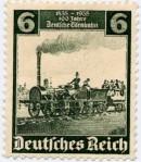 deutsches Reich Briefmarke